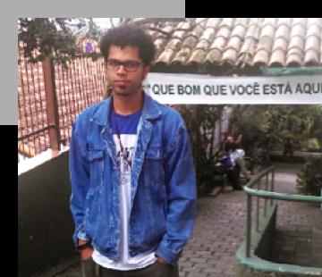 Diego Elias, professor em São Paulo (SP)